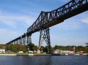 Eisenbahnbrücke Rendsburg
