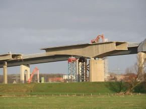 Rückbau Störbrücke Heiligenstedten 2011