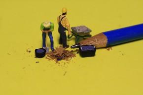 MiniaturBleistiftArbeiter1